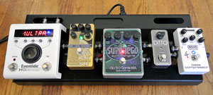 Voodoo Lab Dingbat Small Pedalboard - Eastgate Music