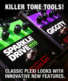 Voodoo Lab Giggity & Sparkle Drive Mod